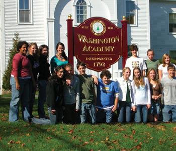 Học Bổng Trường Trung Học Nội Trú Washington Academy - Maine, USA