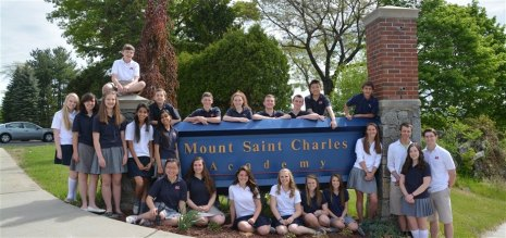 Rhode Island - Trường Trung Học Mount Saint Charles Academy - USA