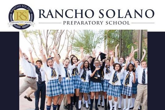 Học Bổng Trường Trung Học Nội Trú Rancho Solano Preparatory Schools - Arizona, USA