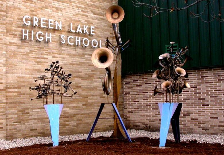Trường Trung Học Công Lập  Green Lake High School- Wisconsin, USA