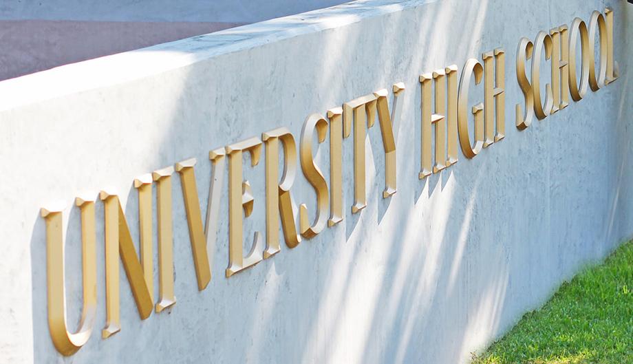 Trường Trung Học Công Lập  University High School - Calfornia - USA