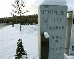 Vermont - Trường Trung Học Công Lập Montpelier High School - USA