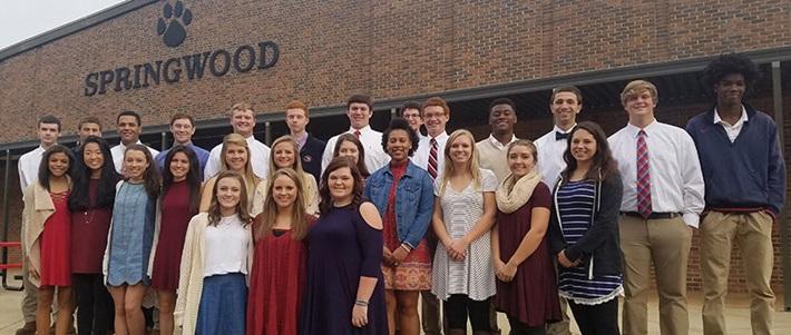 Học Bổng Trung Học Mỹ - Trường Trung Học Springwood School, Alabama, USA