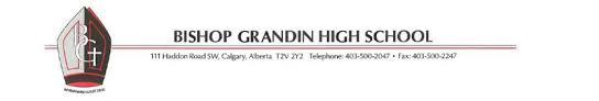Trường Trung Học Bishop Grandin High School - Calgary, Alberta, Canada