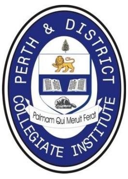 Trường Trung Học Công Lập Perth & District Collegiate Institute – Perth, Ontario, Canada