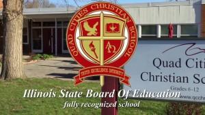 Illinois - Trường Trung Học Ngoại Trú Quad Cities Christian School - USA