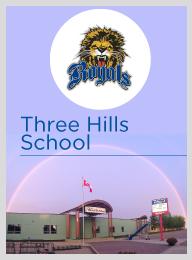 Trường Trung Học Three Hills School - Three Hills, Alberta, Canada